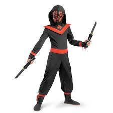 Halloween Neon Costume Kids Neon Ninja Glow Dark Costume 24 99 Costume Land