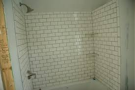 lowe u0027s 3x6 subway tile shower the tile is 3x6 subway tile from