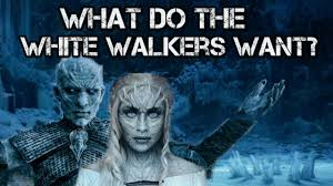 White Walker Meme - game of thrones season 7 what do the white walkers want youtube
