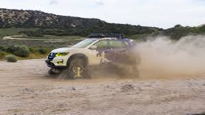 nissan rogue off road the nissan rogue trail warrior project is equipped with tank
