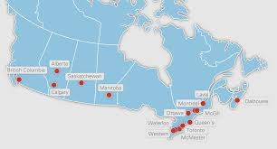Ottawa Canada Map Our Members U15