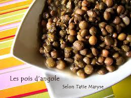recettes de cuisine antillaise recette pour des pois d angole fondants et savoureux