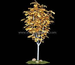 artificial aspen bright and beautiful landscaping trees silk