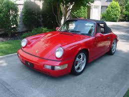 1990 porsche 911 red 90 porsche 911