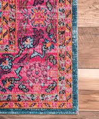 Pink Oriental Rug Nuloom Pink Persian Rug Zulily