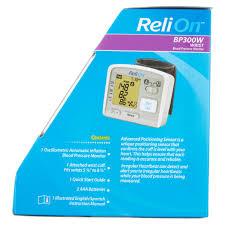 relion bp300w wrist blood pressure monitor walmart com