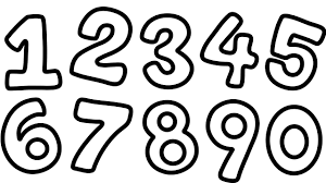 how to draw numbers 1 to 9 for kid learn counting numbers coloring
