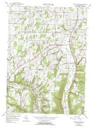 Reston Virginia Map by New York Topo Maps 7 5 Minute Topographic Maps 1 24 000 Scale