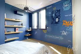 fresque chambre enfant chambre enfant typographie le petit graff décoration graffiti