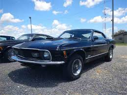Black Mustang With Green Stripes 1970 Ford Mustang Mach 1 For Sale On Classiccars Com 29 Available