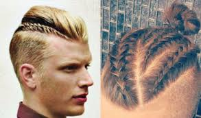 braided pompadour hairstyle pictures photos move over top knot the man braid has arrived queerty