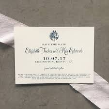 save the date envelopes classic equestrian save the date cards with envelopes cardinal
