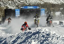 motocross bikes games snow bike boom gets big stage showcase at winter x games aspen