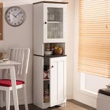 furniture kitchen storage baxton studio traditional white wood kitchen storage free shipping