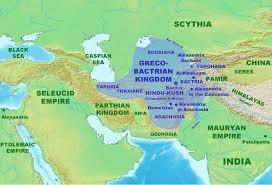 Caucasus Mountains On World Map by Bactria Hindu Kush Mountains Aidcsc