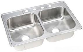 dayton elite stainless steel sink elkay dsew10233221 dayton elite stainless steel double bowl top