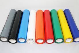 elasticity 100 130um heat press vinyl for multi color names buy