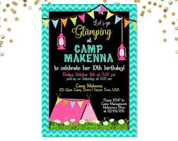 glamping party etsy