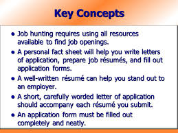 Resume Submit For Job by Chapter 16 Applying For Jobs Ppt Download