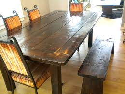 clayton rustic plank dining table and chairs rustic plank dining