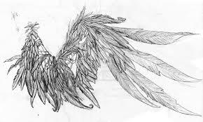 my wing tattoo basic idea by dragon gurl on deviantart