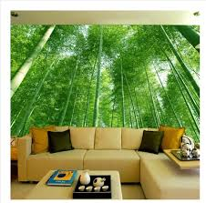 3d Wallpaper For Bedroom Aliexpress Com Buy Bamboo Forest Landscape 3d Wallpaper