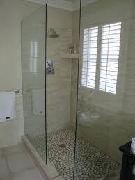 Showers Without Glass Doors Shower Without Door Walk In Shower With No Door American Shower