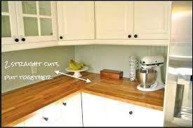 How To Install Kitchen Countertops Fisherman U0027s Wife Furniture Diy Butcher Block Countertops