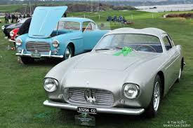 maserati a6g zagato pebble beach concours d u0027elegance 2014 photos winners