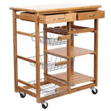 kitchen island cart wine rack