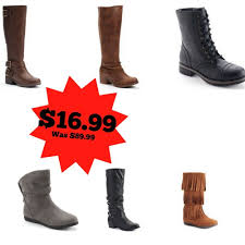 womens boots at kohls friday womens boots