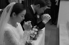 wedding wishes in korean and tae hee are married pictures from their beautiful