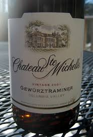 columbia valley wine collections chateau featured wine chateau ste gewürztraminer columbia