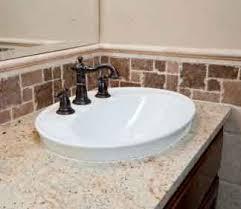 Best BATH Backsplash Ideas Images On Pinterest Bathroom - Bathroom sink backsplash