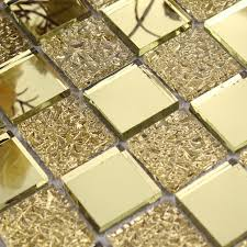 mirror tiles for bathroom walls glass mirror mosaic tile sheets gold mosaic bathroom shower wall