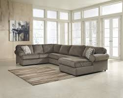 Chocolate Sectional Sofa Furniture Best 3pc Sectionaland Jessa Place 3 Piece Sectional