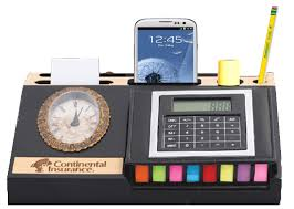 Electronic Desk Organizer Desk Organizer With Assorted Sticky Flags And Notepad Holder Phone Gif