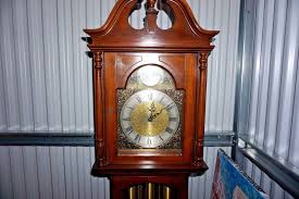 Ridgeway Grandfather Clock Ebay Vintage Ridgeway Grandfather Clock Model 127 E Movement 1969
