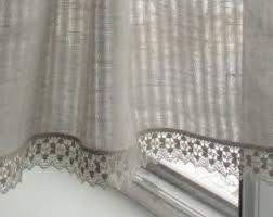 Gray Cafe Curtains Curtains Lace Curtains Natural Gray Cafe Curtains Washed Linen