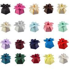 flower top wedding favour boxes different colours sc16