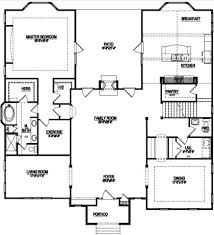 one story open house plans attractive inspiration ideas 9 floor