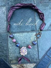 jewelry ribbon necklace images 184 best bohemian jewelry ribbons images jewelry jpg