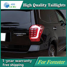 subaru forester tail light bulb car styling case for subaru forester 2013 2014 2015 taillights tail
