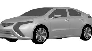 opel ampera 2011 opel ampera aka european volt design sketches leak to web