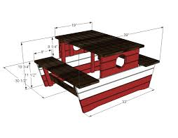 Plans For Building A Children S Picnic Table by Diy Childrens Picnic Table Plans Making Children Picnic Table Diy