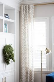 how to make hidden tab drapes a thoughtful place