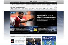 web design news 31 top notch sports websites techrepublic