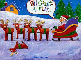 dancing santa reindeer funny christmas gif