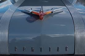 1955 pontiac chieftain detail and yes that orange glass