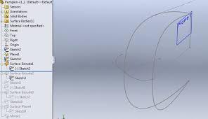 3d printable pumpkin in solidworks intermediate advanced level